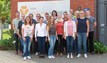 Teilnehmer der Nano Summer School für Lehrkräfte