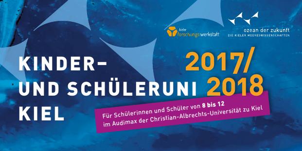 10. Kieler Kinder- und Schüleruni startet am 6. Dezember 2017