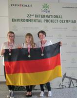 Erfolge bei der Internationalen Umweltprojekt-Olympiade in Istanbul