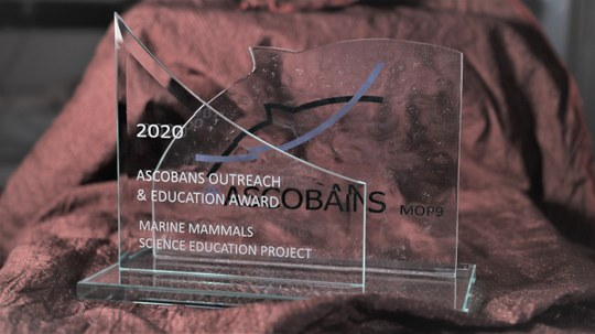 ASCOBANS Outreach und Education Award
