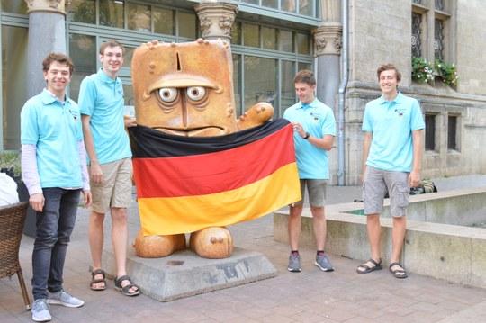 Das deutsche IChO Team
