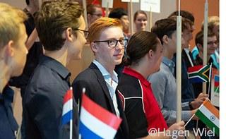Teilnehmer der Junior Science Olympiade
