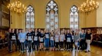 Auszeichnung der besten Projekte im 28. BundesUmweltWettbewerb