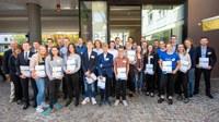 Auszeichnung der besten Projekte im 29. BundesUmweltWettbewerb