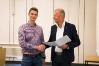 Colin Jeschke erhält den diesjährigen IPN-Preis für herausragende empirische Abschlussarbeiten aus dem Bereich der Didaktik der Naturwissenschaften und Mathematik