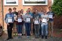 Vier Schülerinnen und Schüler in das Deutschland-Team für die Internationale BiologieOlympiade 2017 in Coventry, Großbritannien, berufen