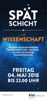 """Das IPN bei der """"Spätschicht trifft Wissenschaft"""" in der Holtenauer Str. in Kiel am 4. Mai 2018"""