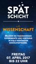 """Das IPN bei der """"Spätschicht trifft Wissenschaft"""" in der Holtenauer Str. in Kiel am 7. April 2017"""