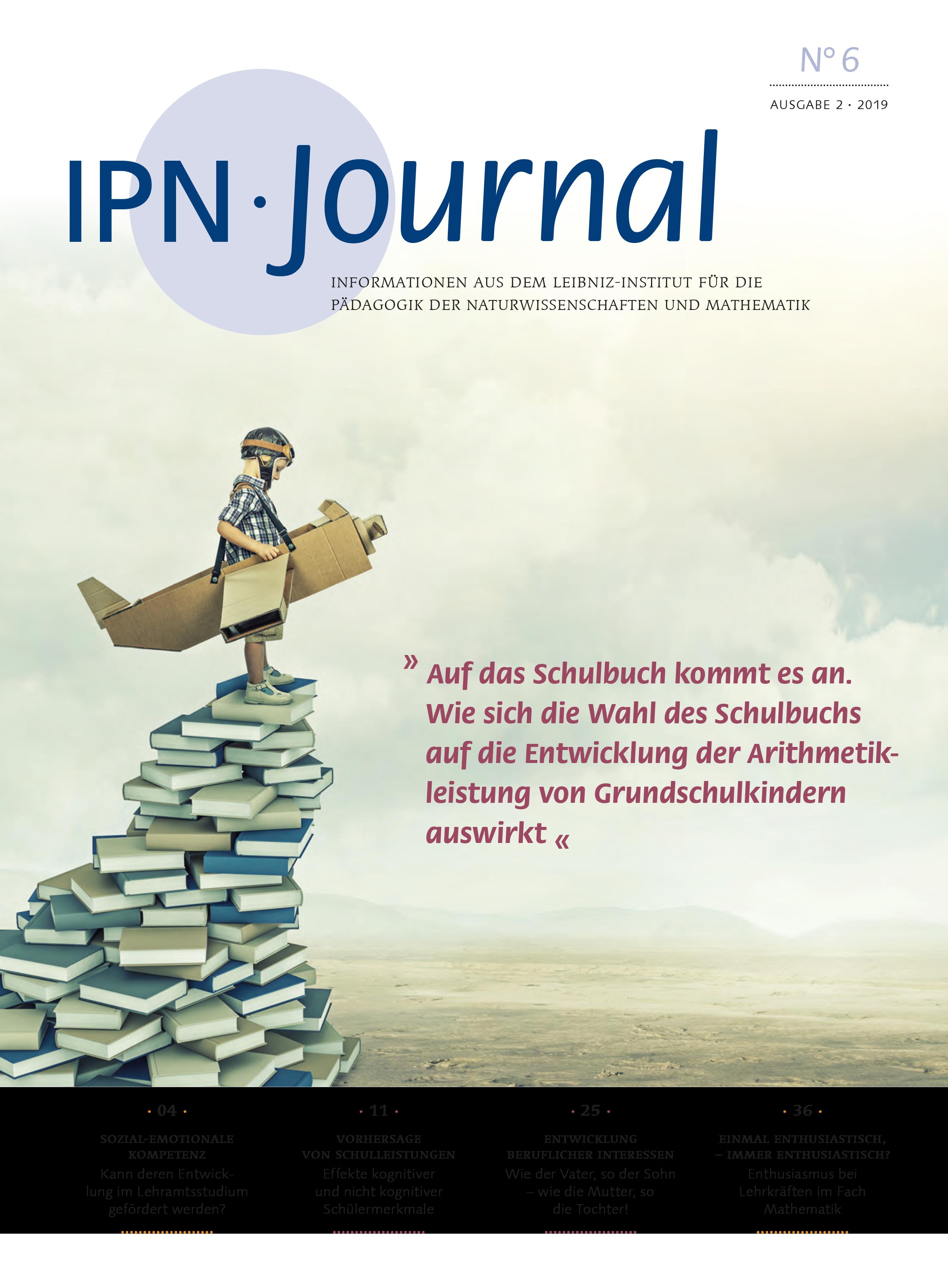 Das neue IPN Journal No. 6 ist erschienen