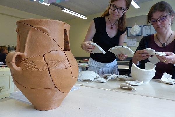 Innovative Fortbildung zu Archäologie im Unterricht
