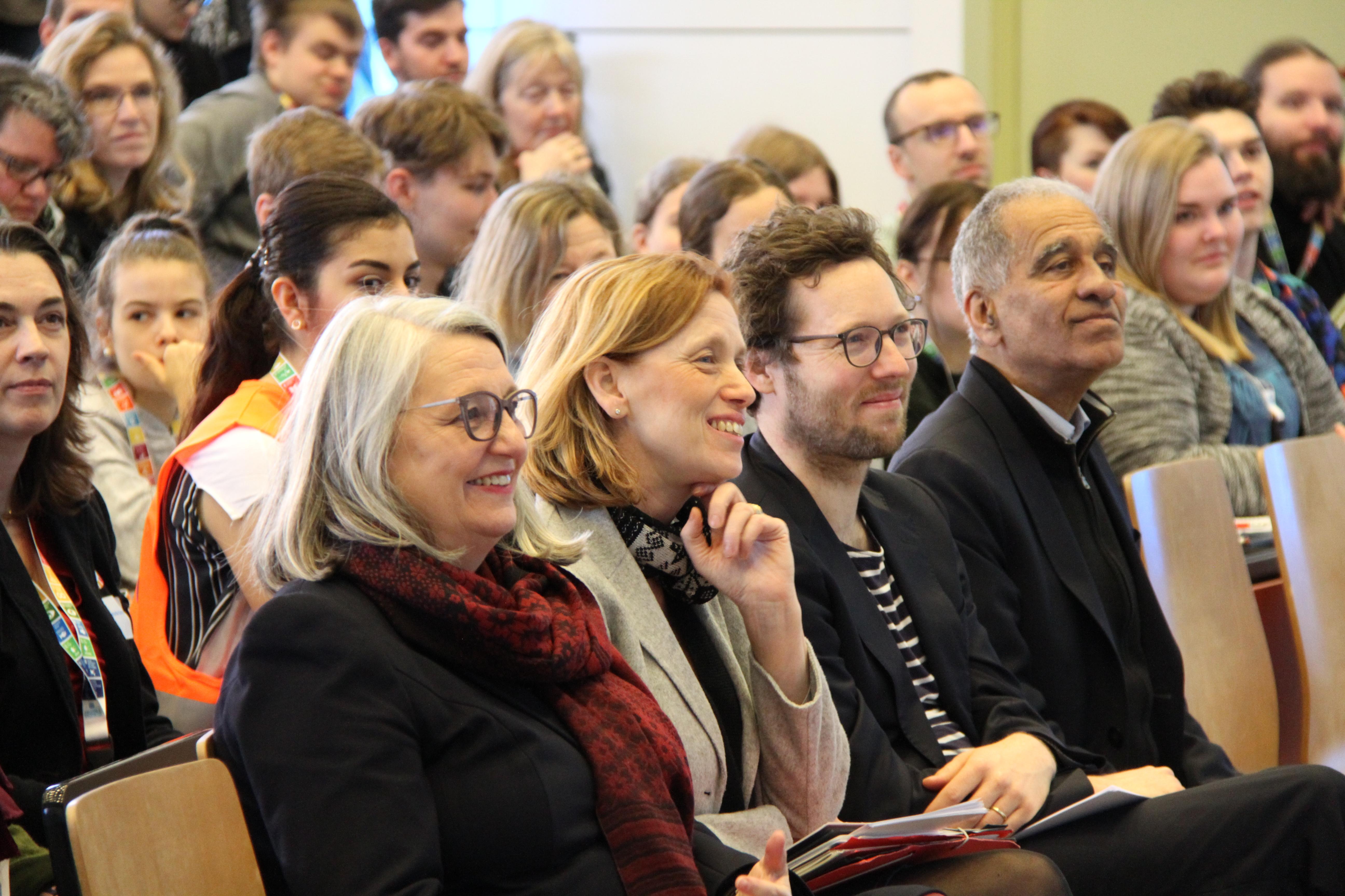 Große Konferenz für Schulen zu Bildung für Nachhaltigkeit