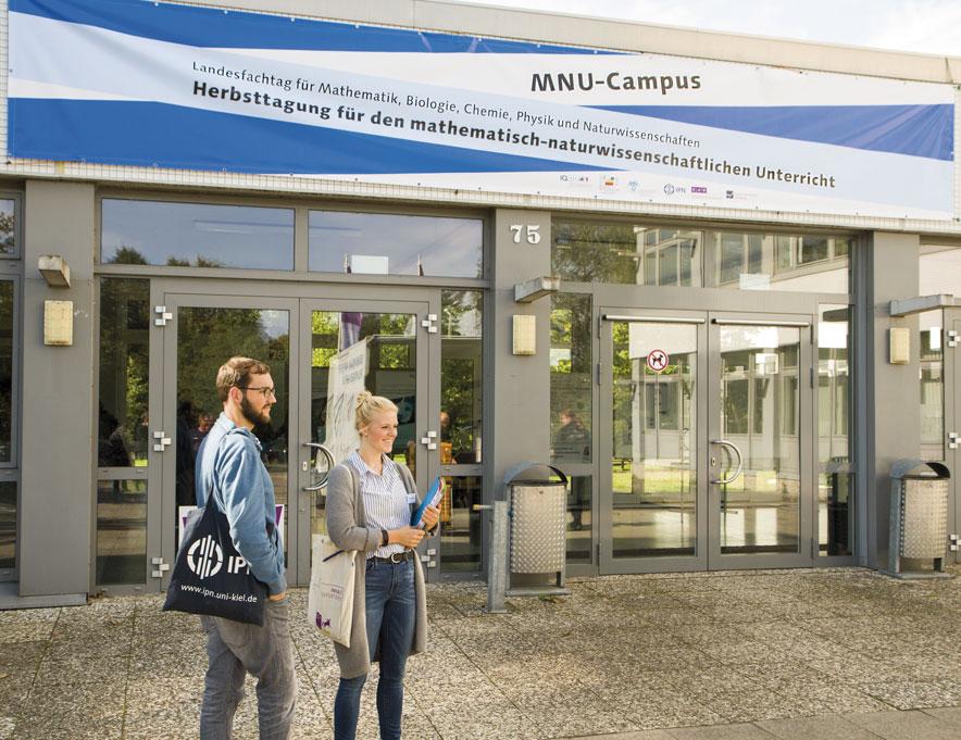 Herbsttagung für den mathematisch-naturwissenschaftlichen Unterricht in Kiel