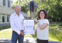 IPN wird Zertifikat für Familienfreundlichkeit verliehen