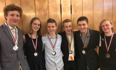 Medaillenregen für das deutsche Nationalteam bei der 14th International Junior Science Olympiad in Nijmegen