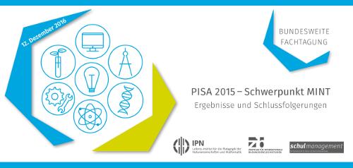 PISA 2015 Schwerpunkt MINT
