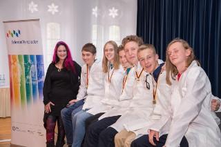 """Sechs junge Talente in den Naturwissenschaften reisen zur """"14th International Junior Science Olympiad"""" nach Nijmegen, Niederlande"""