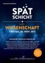 """Das IPN bei der """"Spätschicht trifft Wissenschaft"""" in der Holtenauer Str. in Kiel am 6. November 2015"""