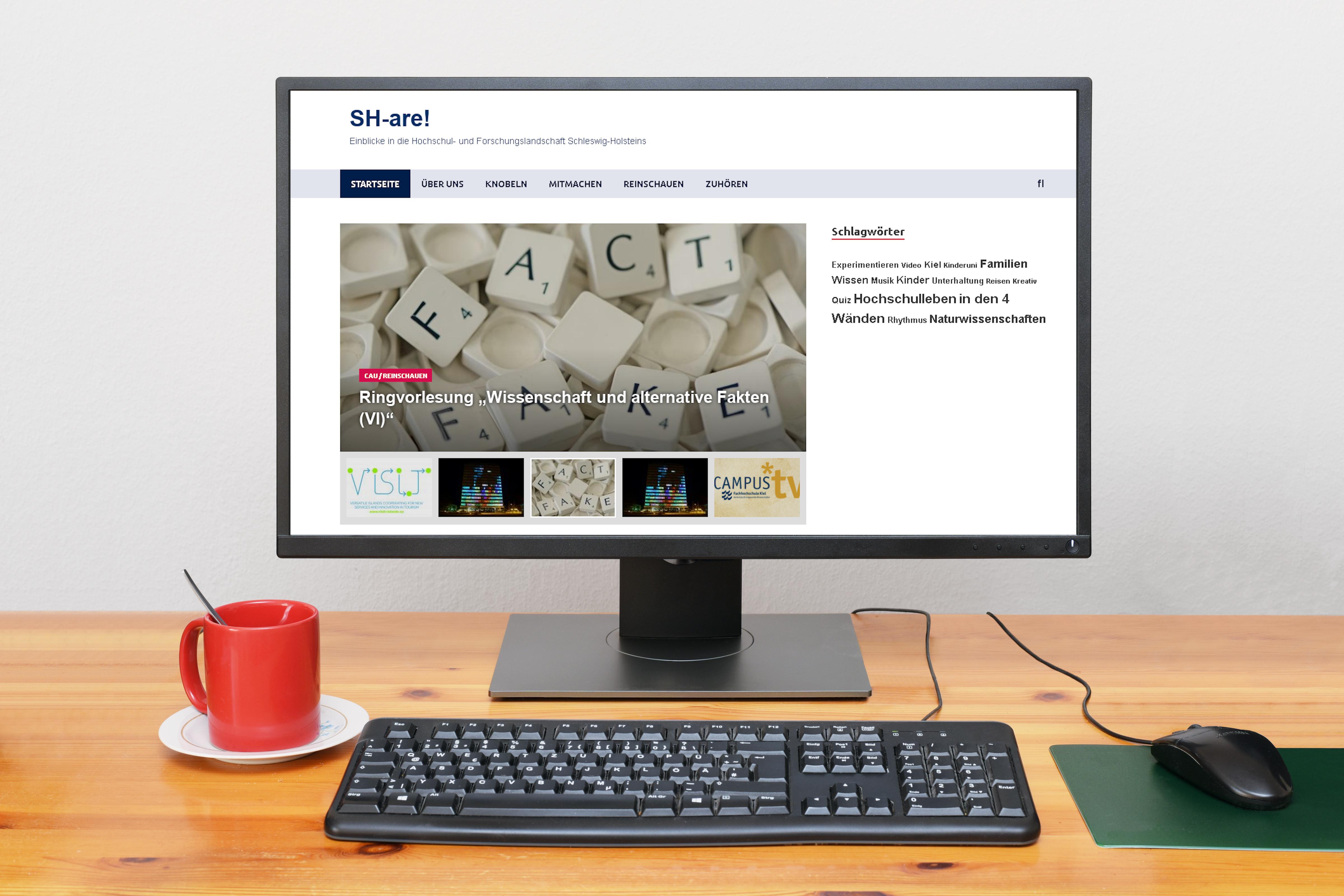 Spannende Einblicke in die Hochschul- und Forschungslandschaft: Gemeinsames Onlineangebot SH-are! startet