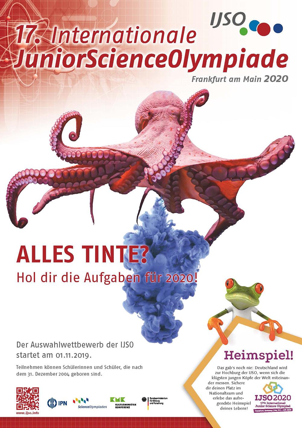 Teilnahmerekord bei der Internationalen JuniorScience Olympiade 2020