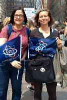 Zeichen setzen: das IPN beim March for Science in New York