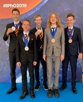 Zwei Silber- und drei Bronzemedaillen für deutsches Schülerteam bei der 50. Internationalen PhysikOlympiade in Tel Aviv
