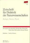 Zeitschrift für Didaktik der Naturwissenschaften - Jahresband 2006