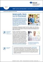 Lernen und Gesundheit: Gefahrstoffe am Arbeitsplatz