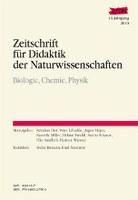 Zeitschrift für Didaktik der Naturwissenschaften - Jahresband 2010