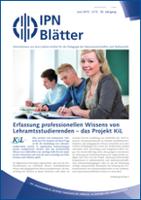 IPN-Blätter 2/2013