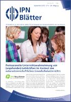 IPN-Blätter 3 / 2012