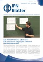 IPN-Blätter 4 / 2012