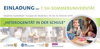 7. SH-Sommeruniversität in der Akademie Sankelmark
