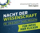 Science Night in the Kiel region on September 29th, 2017