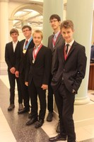 German Physics Olympiad Team brings home medals from Zurich