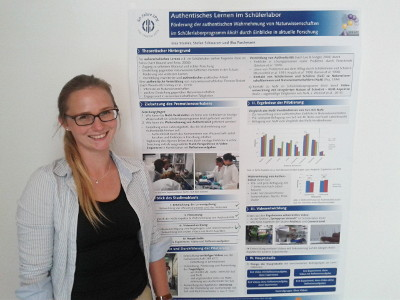 IPN Doctoral Candidate receives Prize for her Poster