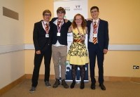 One gold and three silver medals for German team at the 28th International Biology Olympiad in Coventry
