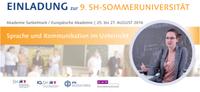 Registration now open for the Annual University in Sankelmark
