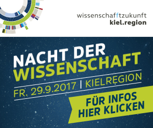Save the date: Science Night in the Kiel region on September 29th, 2017