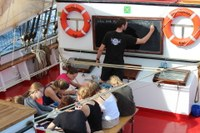 Summer School on Board the Thor Heyerdahl returns to Kiel