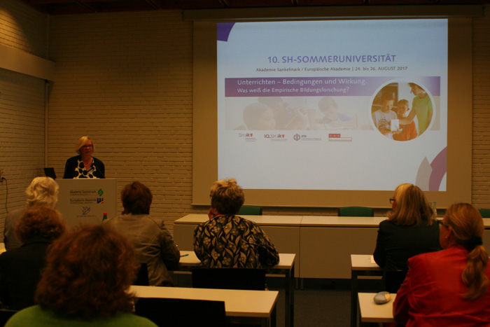 Ten years Schleswig-Holstein Summer University – a success story of synergy between teachers and science