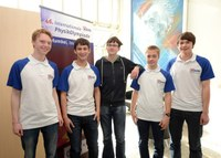 The German Team for the International Physics Olympiad 2015 in Mumbai has been selected