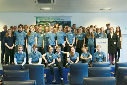 The most talented biology students from Germany at the IPN